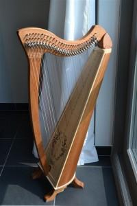 Keltische Harp - Jade